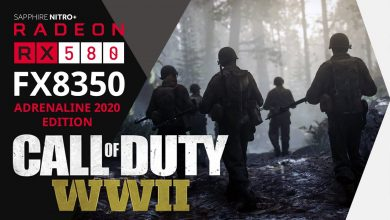 Photo of Call of Duty: WWII Gameplay & FPS Benchmark (MAX) 1080p | FX8350 RX580 8GB