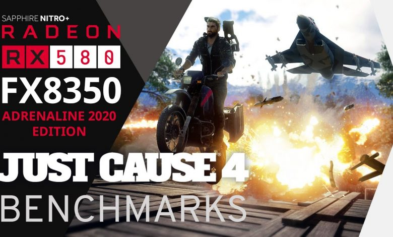 Photo of Just Cause 4 Benchmark (All Presets) 1080p | FX8350 RX580 8GB