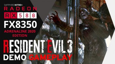 Photo of RESIDENT EVIL 3 Demo Gameplay (MAX) 1080p | FX8350 RX580 8GB